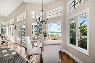 Del Mar Single Family Home For Sale: 14770 Caminito Porta Delgada