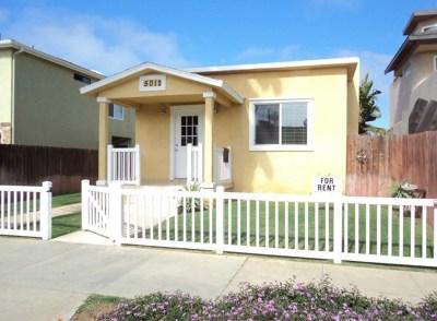 Rental For Rent: 5010 Del Monte Ave