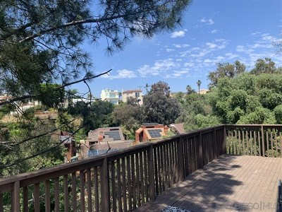 San Diego Single Family Home For Sale: 416 W Robinson Ave