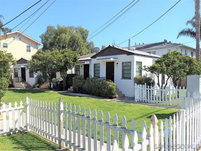 San Diego CA Multi Family Home For Sale: $1,500,000