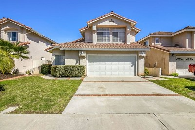 El Cajon Single Family Home For Sale: 11609 Avenida Anacapa