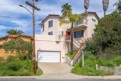 San Diego Single Family Home For Sale: 4643 Ashby St