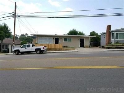 Lemon Grove Multi Family Home For Sale: 2048 Massachusetts Avenue