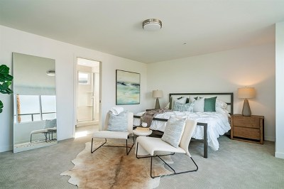 San Diego Condo/Townhouse For Sale: 4100 Voltaire Street #208