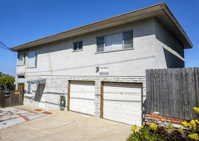 San Diego Multi Family Home For Sale: 4486 Valeta St