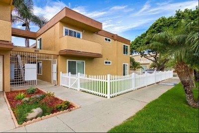 Oceanside Condo/Townhouse For Sale: 601 S Tremont St #D