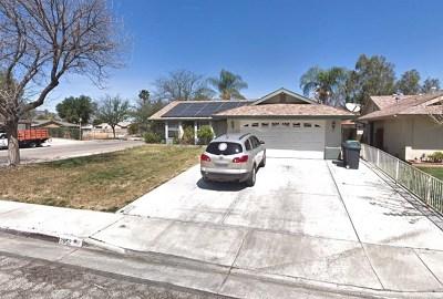 Hemet CA Single Family Home For Sale: $150,000