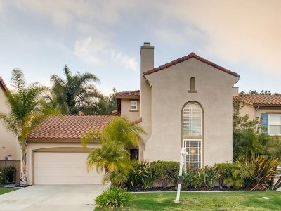 Carlsbad Single Family Home For Sale: 6061 Paseo Carreta
