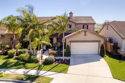 Oceanside Single Family Home For Sale: 3427 Soyla Dr