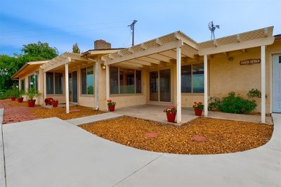 Poway Single Family Home For Sale: 13863 Tierra Bonita Rd
