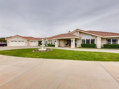 Murrieta Single Family Home For Sale: 38092 Via Huerta