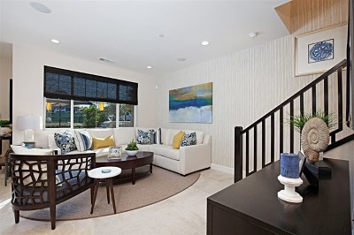 Carlsbad Condo/Townhouse For Sale: 3360 Campo Azul Court #LOT 16