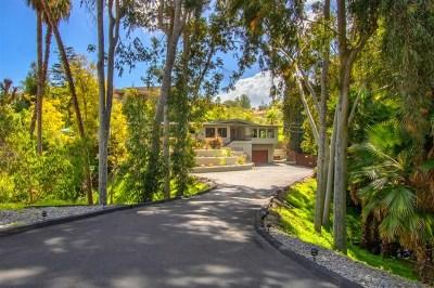 La Mesa Single Family Home For Sale: 4405 Conrad Dr