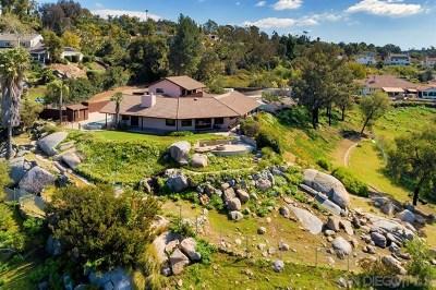 El Cajon Single Family Home For Sale: 1457 Avenida Arriba