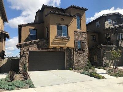Carlsbad Single Family Home For Sale: 3076 Marron Road #Lot 31
