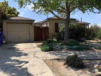 San Diego Single Family Home For Sale: 4984 W Mountain View Dr.
