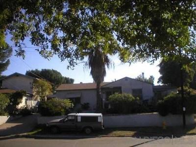 La Mesa Single Family Home For Sale: 7201 Berkeley Dr.