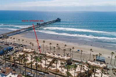 Oceanside Condo/Townhouse For Sale: 400 Strand #35