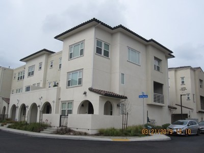 San Diego Condo/Townhouse For Sale: 1251 Paseo Sea Breeze #20