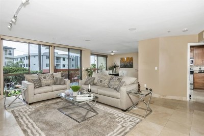 San Diego Condo/Townhouse For Sale: 2414 Front St #10