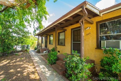 Vista Multi Family Home For Sale: 503 N Citrus Ave