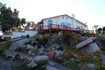 Escondido Single Family Home For Sale: 9856 Canyon Country Lane