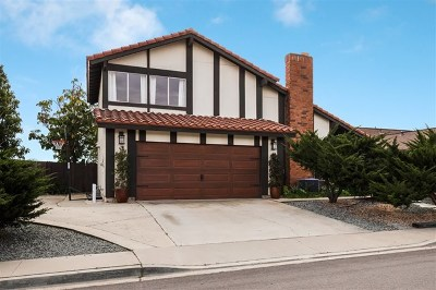 San Diego Single Family Home For Sale: 10483 Orozco Rd