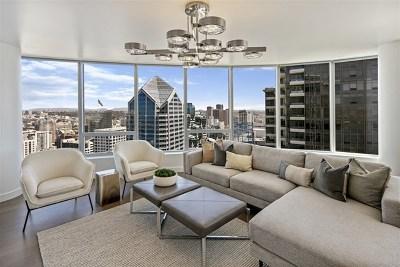 San Diego Condo/Townhouse For Sale: 888 W E Street #3804