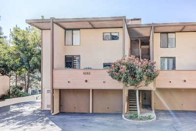 San Diego Condo/Townhouse For Sale: 6192 Agee St #251