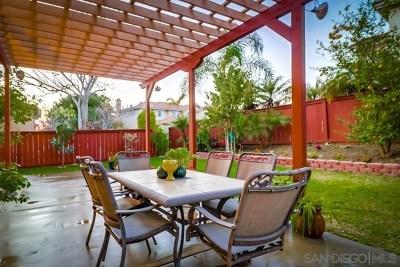 Chula Vista Single Family Home For Sale: 1155 Calle De Damasco