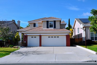 San Diego Single Family Home For Sale: 7368 Celata Ln