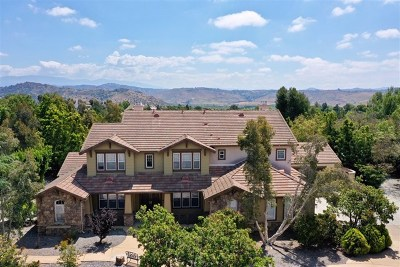 Fallbrook Single Family Home For Sale: 3949 Wendi Ct