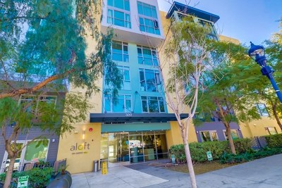 San Diego Condo/Townhouse For Sale: 889 Date Street #343