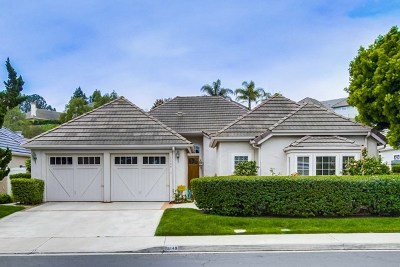 San Diego Single Family Home For Sale: 5149 Saddlery Square