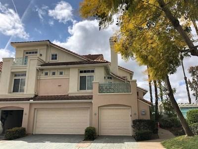 San Diego Condo/Townhouse For Sale: 12662 Springbrook Dr #D