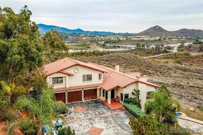 Escondido Single Family Home For Sale: 3636 Monte Real
