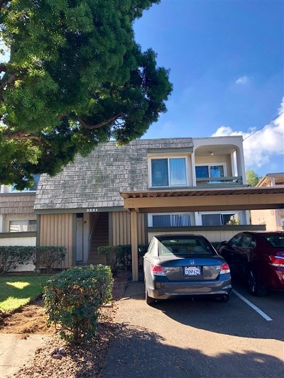 San Diego Condo/Townhouse For Sale: 3861 Basilone St #3