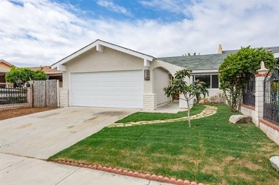 Oceanside Single Family Home For Sale: 363 Calle Montecito