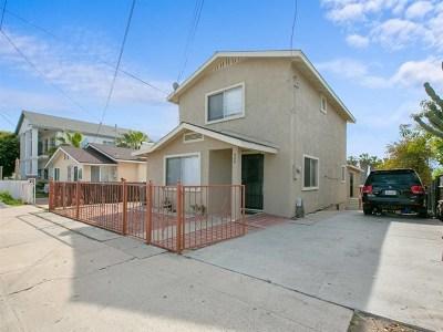 National City Single Family Home For Sale: 426 E Plaza Blvd