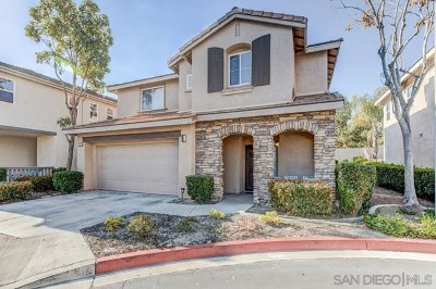 Chula Vista Single Family Home Active Under Contract: 1504 Prescott Dr