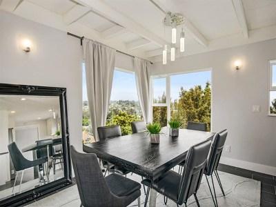 La Mesa Single Family Home For Sale: 9504 Sierra Vista Ave