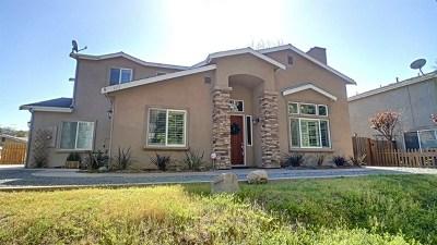 La Mesa Single Family Home For Sale: 9111 Tropico Drive