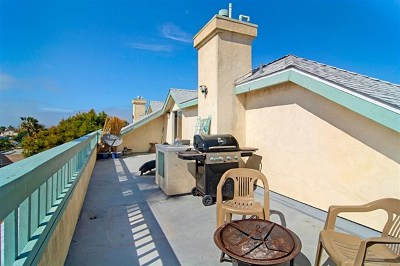 Imperial Beach Condo/Townhouse For Sale: 240 Dahlia #c