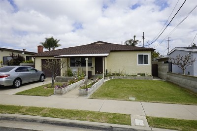 National City Single Family Home For Sale: 21 N S Ave