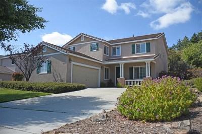 Oceanside Single Family Home For Sale: 5426 Toucanet Ct