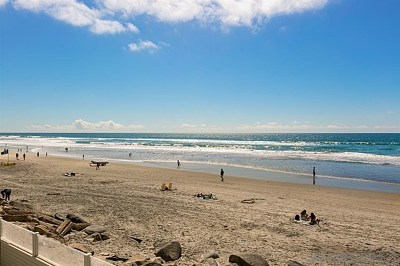 Del Mar Single Family Home For Sale: 1728 Ocean Front