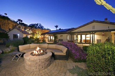 Encinitas Single Family Home For Sale: 1243 Crest Dr