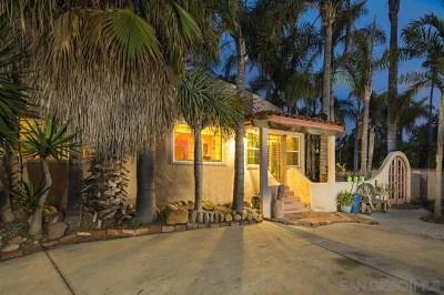 Solana Beach Single Family Home For Sale: 232 N Rios Avenue