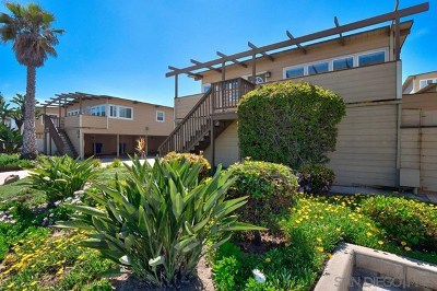 Imperial Beach Condo/Townhouse For Sale: 1650 Seacoast Drive #A
