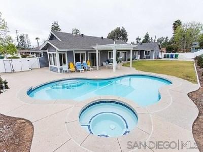 El Cajon Single Family Home For Sale: 2027 Granite Hills Dr